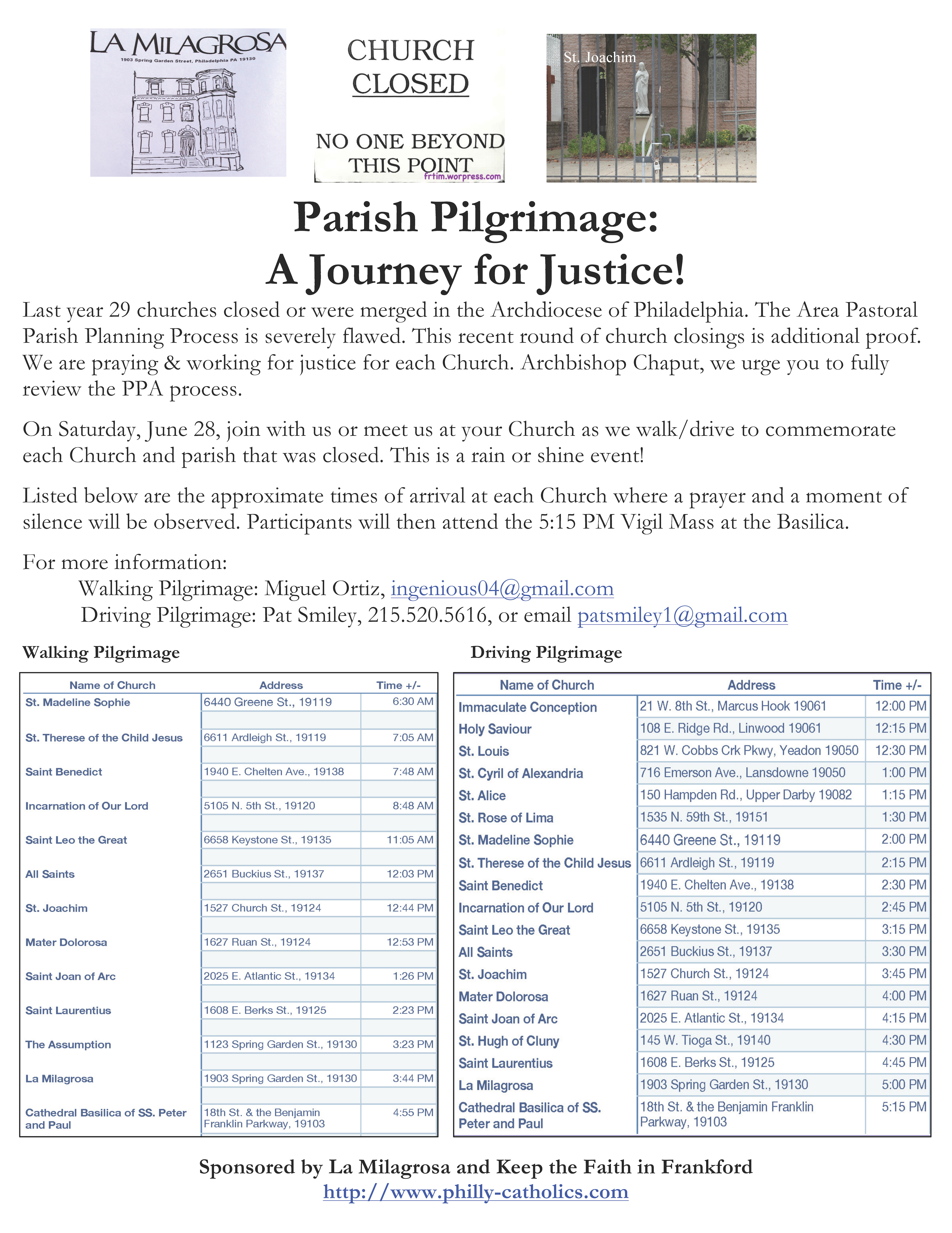 Parish Pilgrimage Image