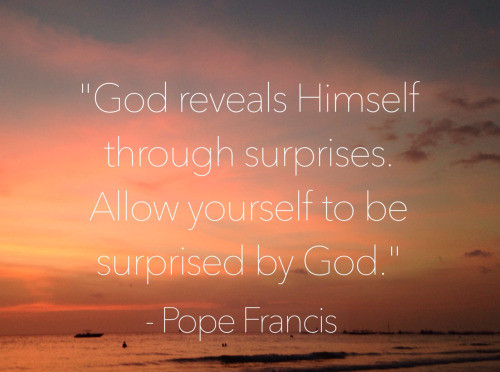 Our God of Surprises!